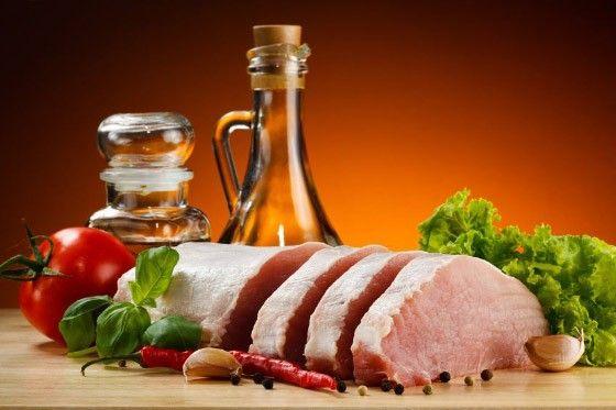 Які вітаміни в свинині?