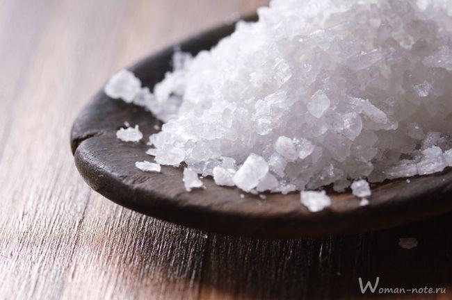 Морська сіль для схуднення - суміш від целюліту