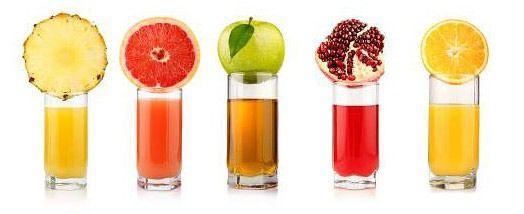 Скільки вітамінів міститься в соках?